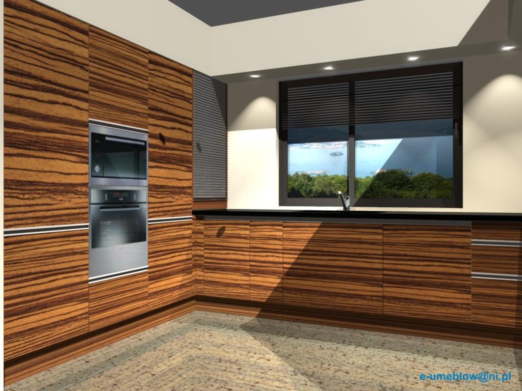 Projekty nowoczesnej kuchni otwartej zebrano z beżem