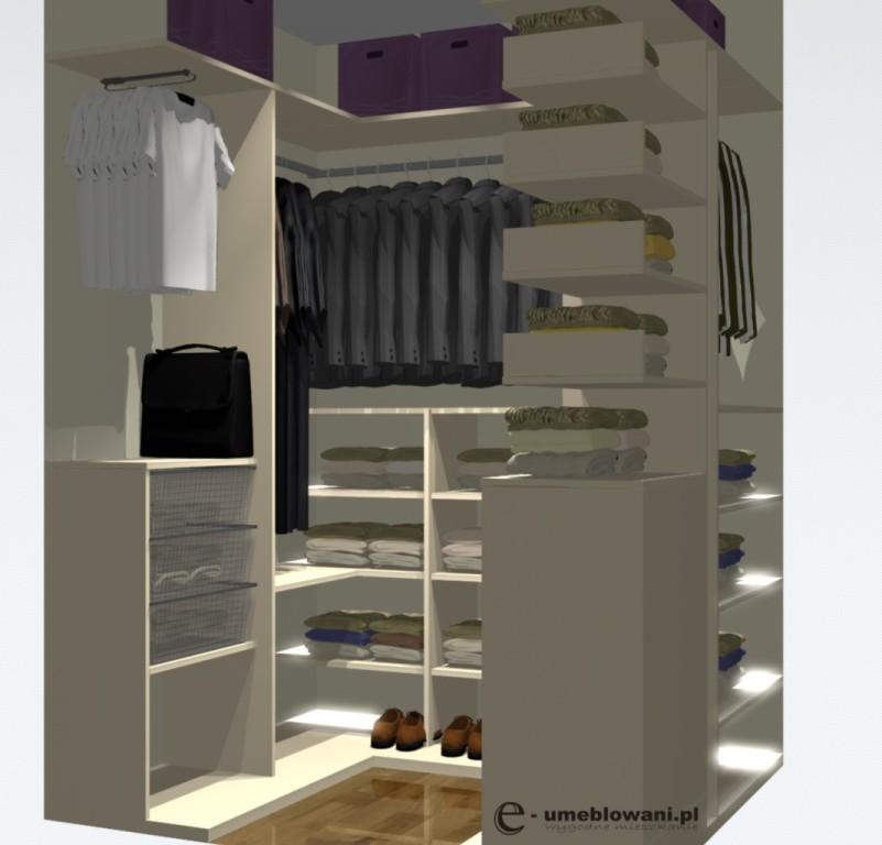 aranżacja garderoby przedpokój 28.05 (2)
