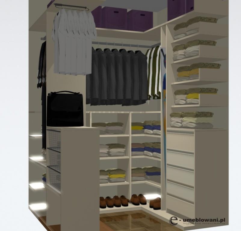 aranżacja garderoby przedpokój 28.05