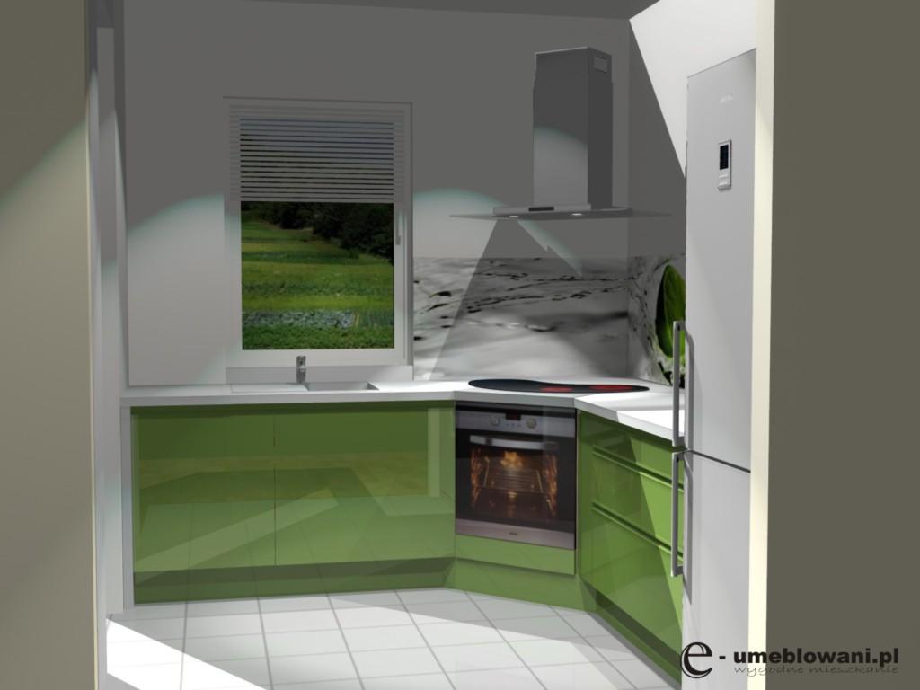 Projekt Kuchni Z Dwoma Oknami Projekty Wnętrz I Aranżacje