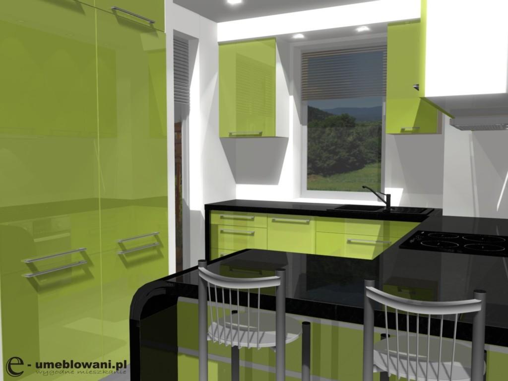 Aranżacja Małej Kuchni 5 Projekty Wnętrz I Aranżacje Mieszkań