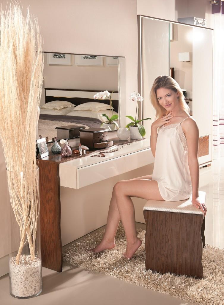 sypialnia, Toaletka dla kobiety