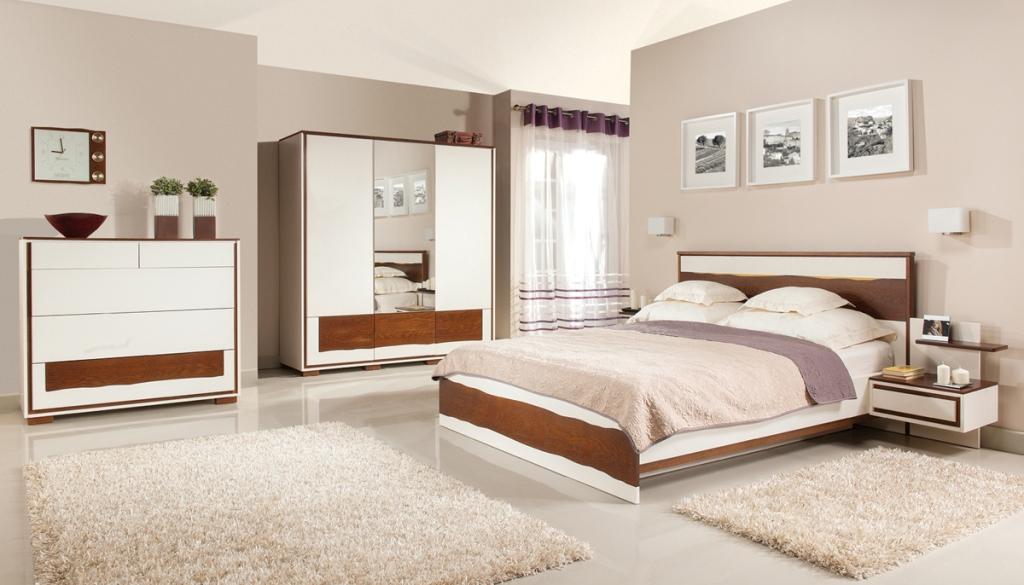 sypialnia biala Flamenco bianco