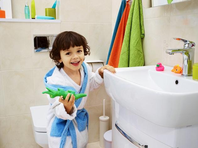 Łazienka, Szafka pod umywalkę PURE 50 biała