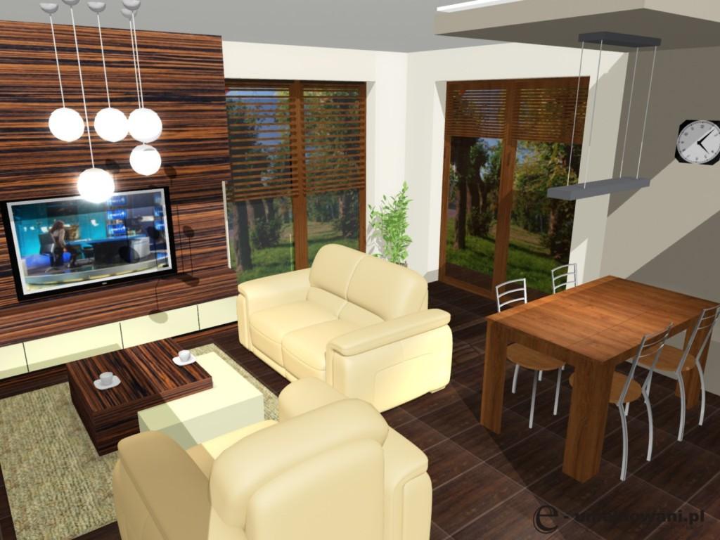 Mały Salon Aranżacja Salonu Projekty Wnętrz I Aranżacje Mieszkań