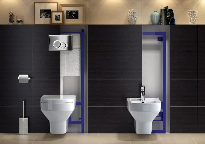 łazienka, duże płytki