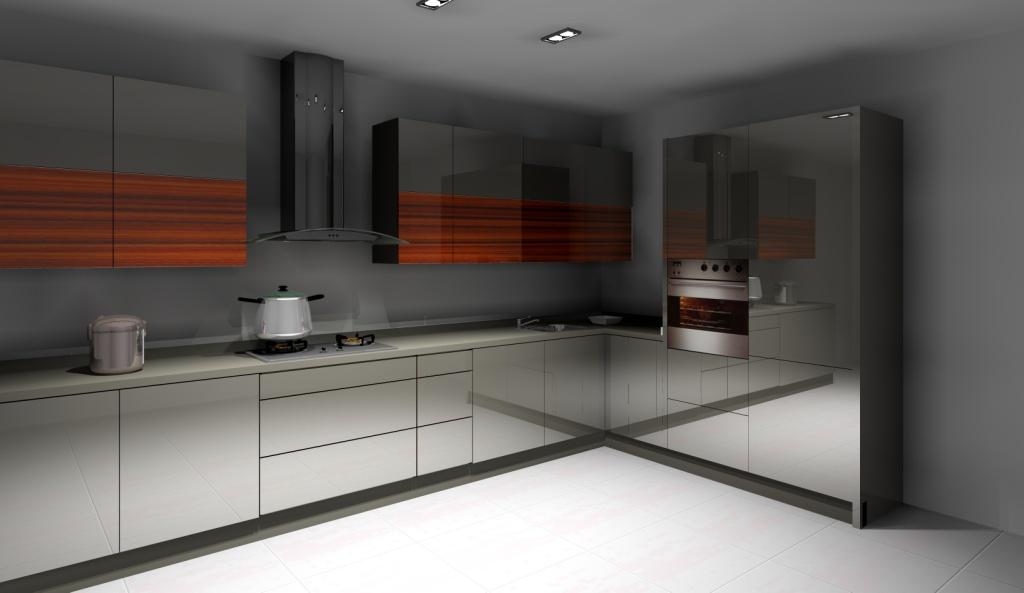 kuchni-wystroj-nowoczesny-w-kolorach-szary-braz-drewno