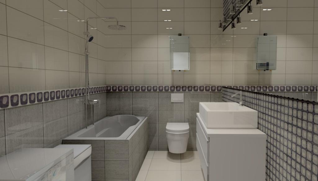 łazienka-grafit-krem-pralka-obudowa-wanny-szafka-biały-połysk