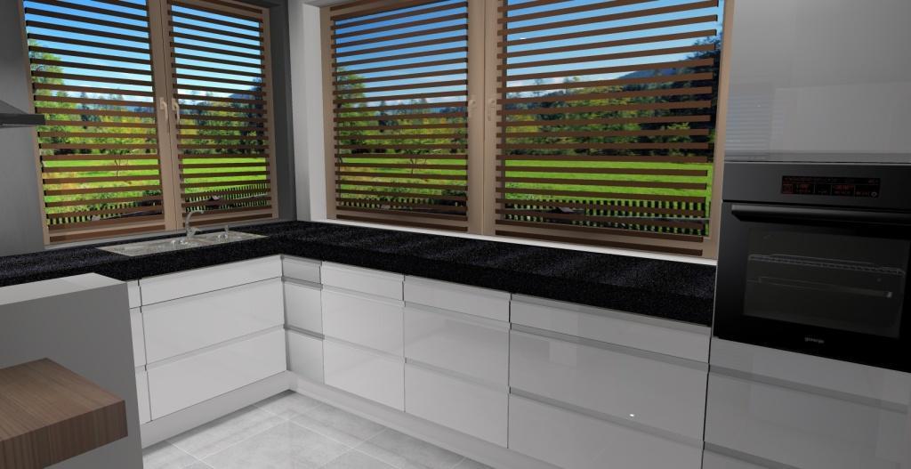 kuchnia-biała-szare-płytki-okno-narożne