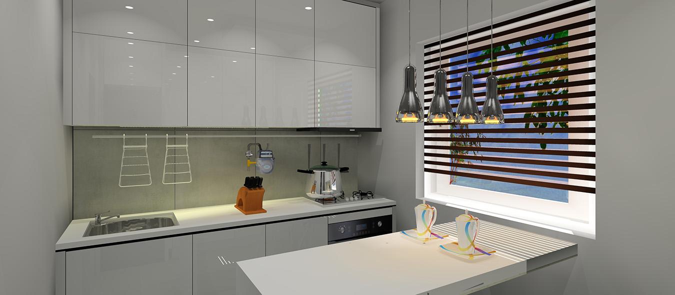 Mała Kuchnia W Bloku Z Wielkiej Płyty Projekty Wnętrz I
