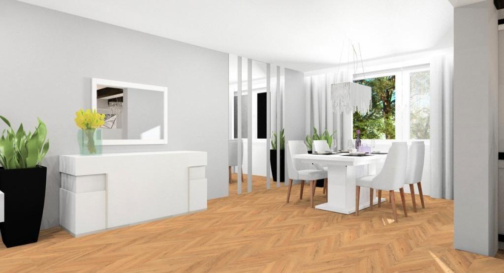 Jak urządzić salon z kuchnią i jadalnią połączony z holem?